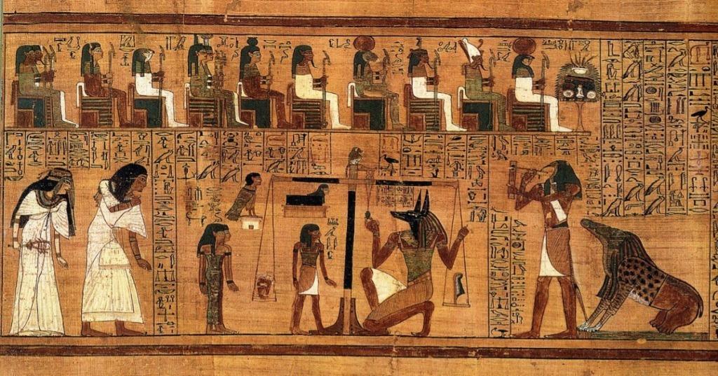 A mitologia egípcia